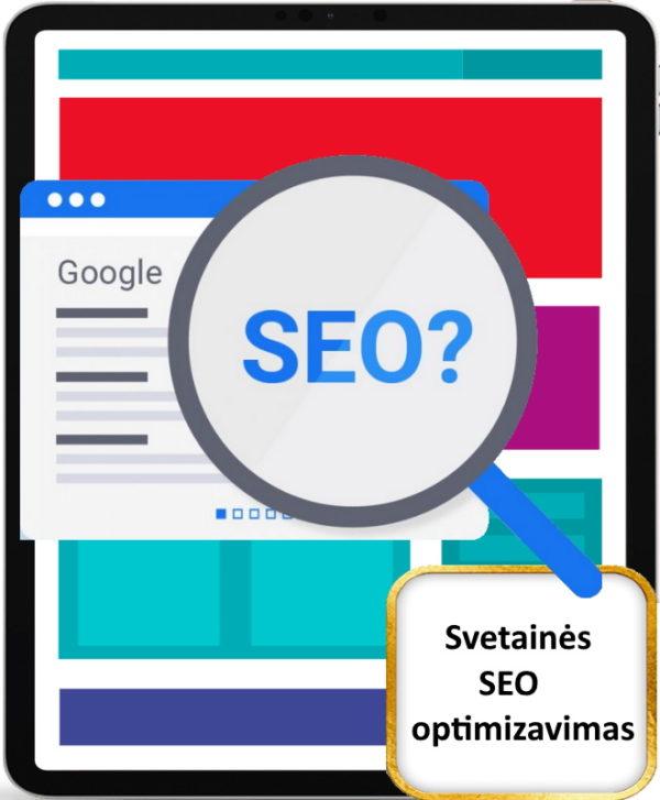Internetinių svetainių SEO optimizavimas