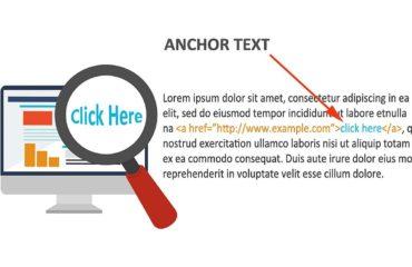 interneto svetainės inkaro tekstas