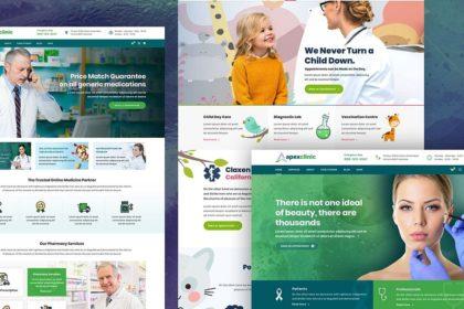 Medicinos klinikų, sveikatos centrų svetainių kūrimas