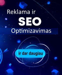 Internetiniu svetainių SEO Optimizavimas ir reklama internete