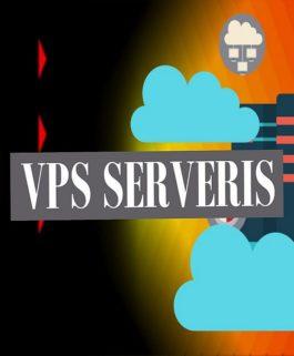 Jūsų interneto svetainės VPS Serveris