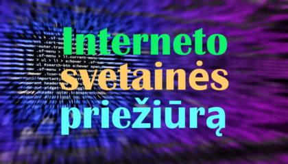 Interneto svetainės priežiūra
