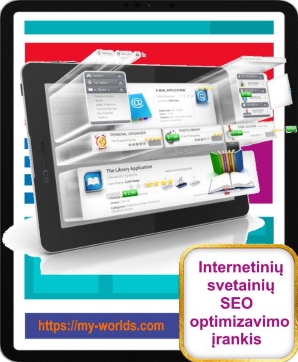 Internetinių svetainių SEO optimizavimo įrankis