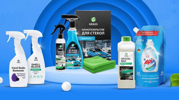 GRASS Valymo priemonių internetinės parduotuvės kūrimas