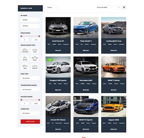 Automobilių nuomos interneto svetainės kūrimas 2