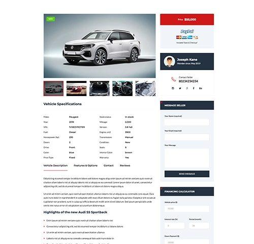 Automobilių nuomos interneto svetainės kūrimas 3