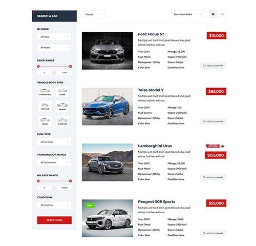 Automobilių nuomos interneto svetainės kūrimas 4