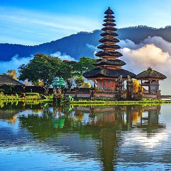 Egzotiniu kelionių mėgėjai renkasi Bali Indonezijoje
