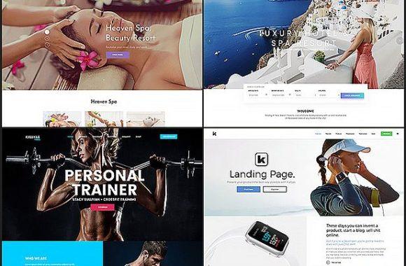 Kallyas internetinės parduotuvės dizainas
