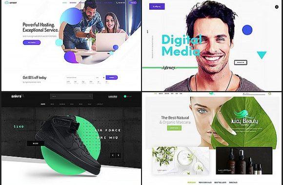 Kallyas interneto svetainės dizainas