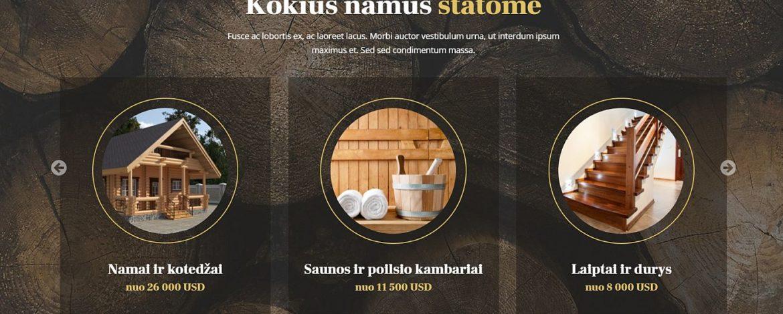 Medinių namų interneto svetainiu kūrimas slaid3