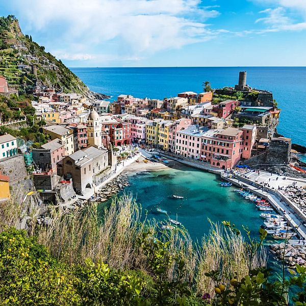 Pamėgta poilsio mėgėju Riviera Italijoje