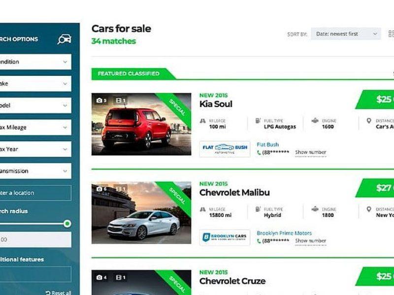 Automobilių pardavėjams Internetinių svetainių kūrimas 5