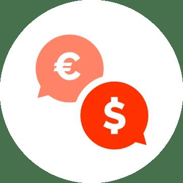 Internetinės parduotuvės Suderinamumas keliomis valiutomis