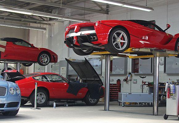 Kuriame internetines svetaines auto remontui