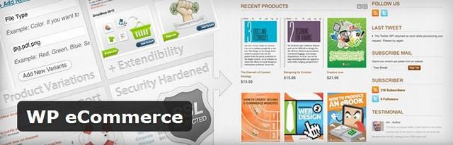 WP eCommerce Internetinių parduotuvių kūrimas